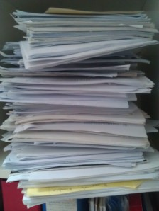 My archives and data management needs a bit of work...