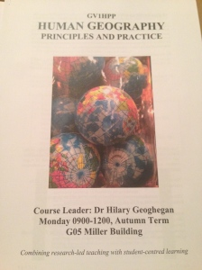 Human Geography Principles and Practice Handbook