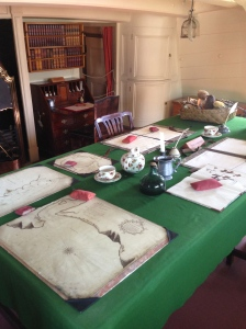"""""""The Great Cabin is where Cook worked and dined, sharing the space with famous botanist Joseph Banks"""""""