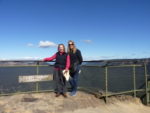 Blue Mountains with my mum
